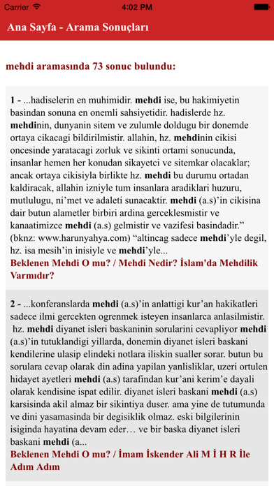 Mihr Vakfı Kitaplar screenshot two