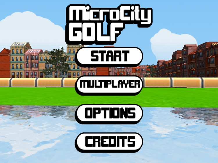 Micro City Golf - for the iPad screenshot-4