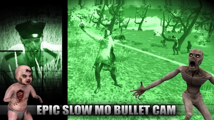 DEAD SHOT - 2 Minutes of Terror With Predator Walking Beast, The Slender Man, Zombie & Chupacabra Survival Horror Screenshot