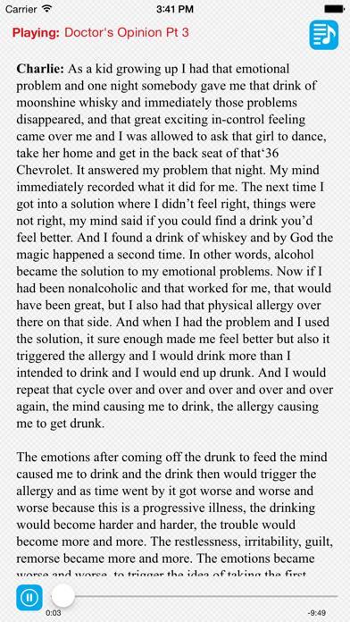 Joe & Charlie Big Book Alcoholics Anonymous screenshot three