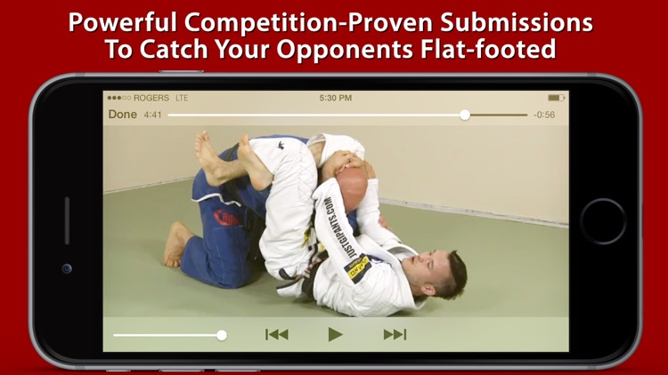 Advanced Fundamentals of Brazilian Jiu-Jitsu by Brandon Mullins and Stephan Kesting screenshot-4