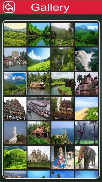 Kerala Offline Map Tourism Guide screenshot-3