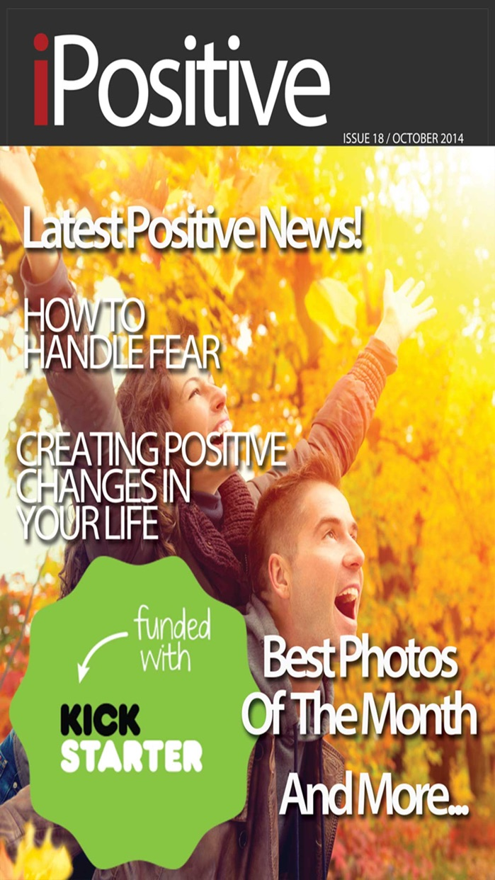 iPositive - #1 Magazine About Positive Thinking And Self Improvement Screenshot
