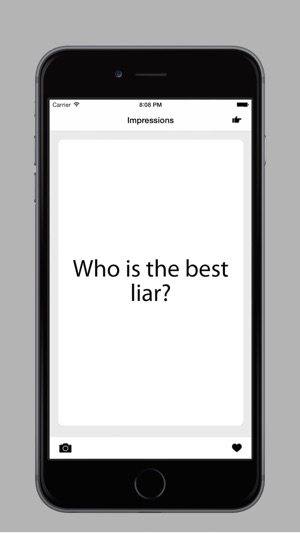 Impressions a drinking game on the app store screenshots solutioingenieria Gallery