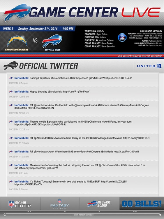 Buffalo Bills Touch screenshot-3