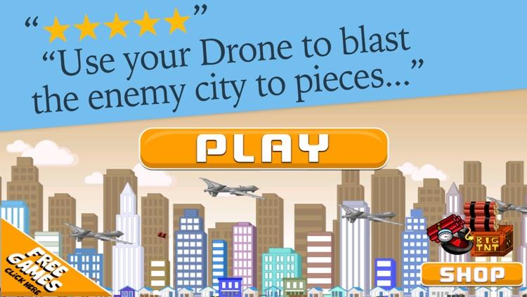 A Drone Bomb Drop Getaway - Building Destroyer Warfare
