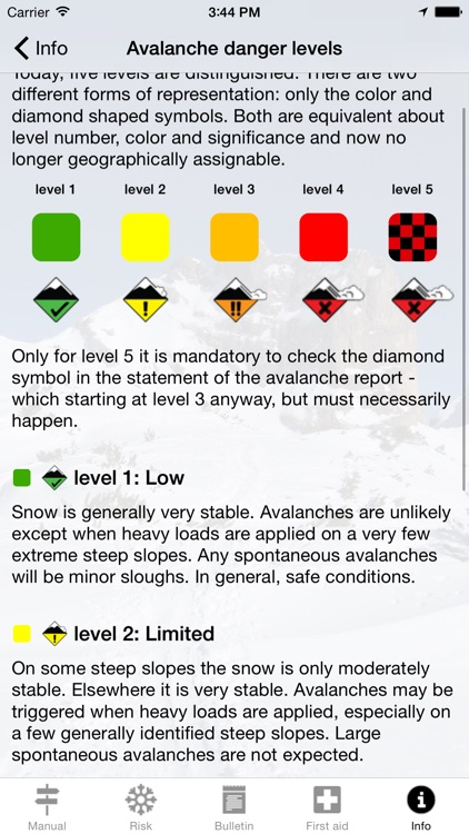 Avalanche Risk screenshot-2