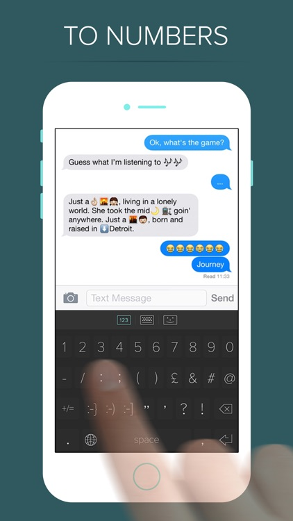 QWERKY - swipe keyboard for emoji, text, and numbers screenshot-3