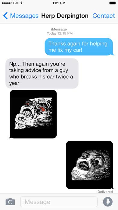 SMS Rage Faces Proのおすすめ画像5
