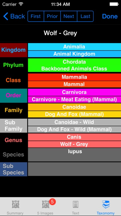 World Life Forms Sampler - eLifeFormsW - An Introductory Life Form App screenshot-4