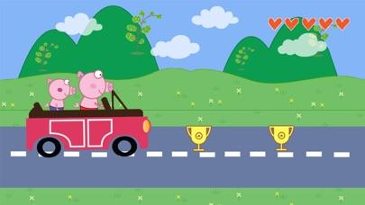 The Car Peppie Pinky Pig screenshot two