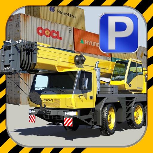 Crane Parking PRO - Full Construction Truck Madness Driving Simulator Version