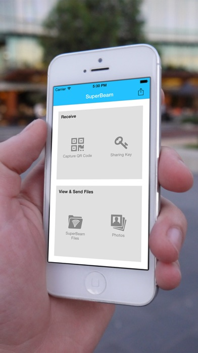 SuperBeam Lite | Easy & fast WiFi direct file sharing 2