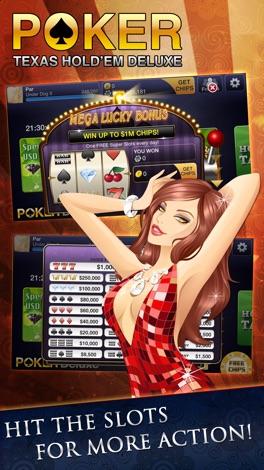 Texas HoldEm Poker Deluxe screenshot for iPhone