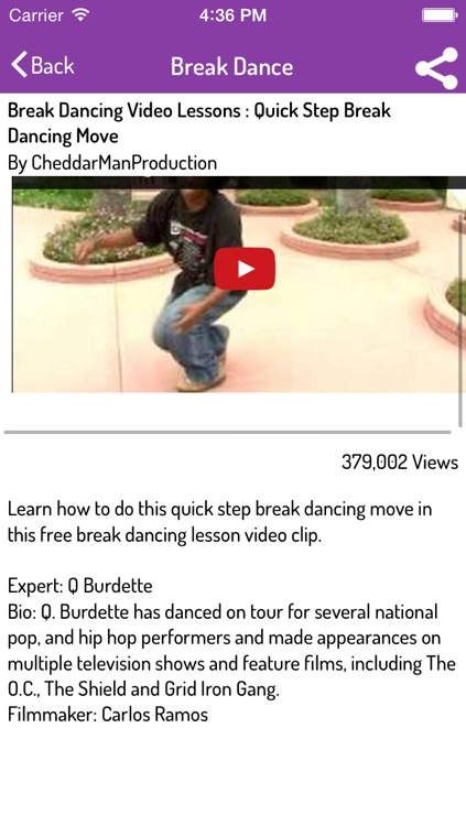 How To Dance - Break Dance, Hip Hop, Pole, Belly, Salsa, Jazz, and many more screenshot-4