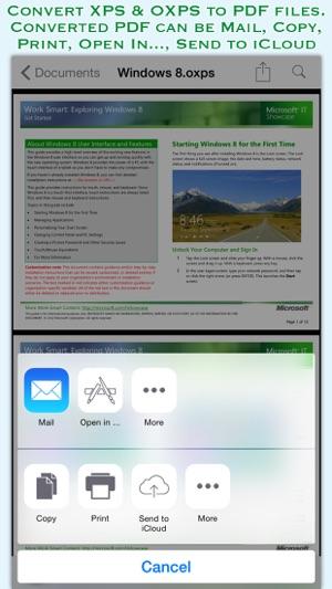 convertidor oxps a pdf