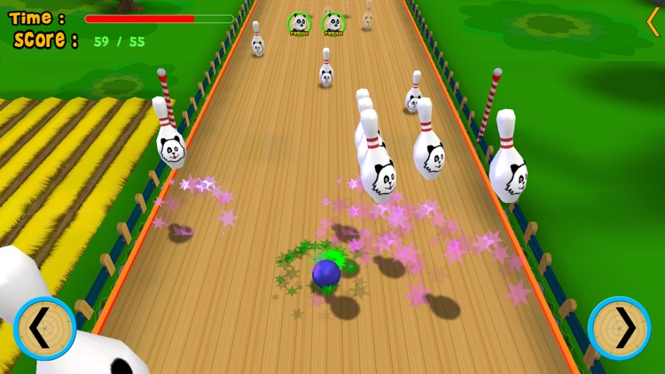 pandoux crazy bowling for kids - free game screenshot-4