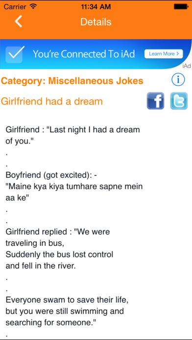 IndianJokes screenshot two