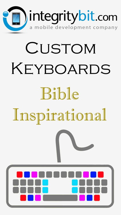 Bible Keyboard Background Inspirational Color Themes for iPhone, iPad, iPod screenshot-3