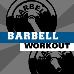 Barbell workout - training hiit wod & exercises trainer for abs arm leg PRO