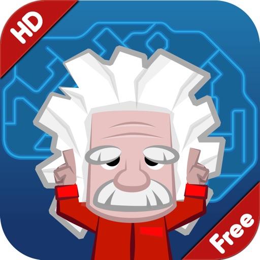 Einstein™ Тренировка для ума HD Free: 30 упражнений на практике свои логики, памяти, навыков математики и видения