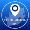South Africa Offline Map + City Guide Navigator, Attractions and Transports