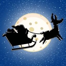 Christmas Santa Claus - Silent Night Flying Adventure