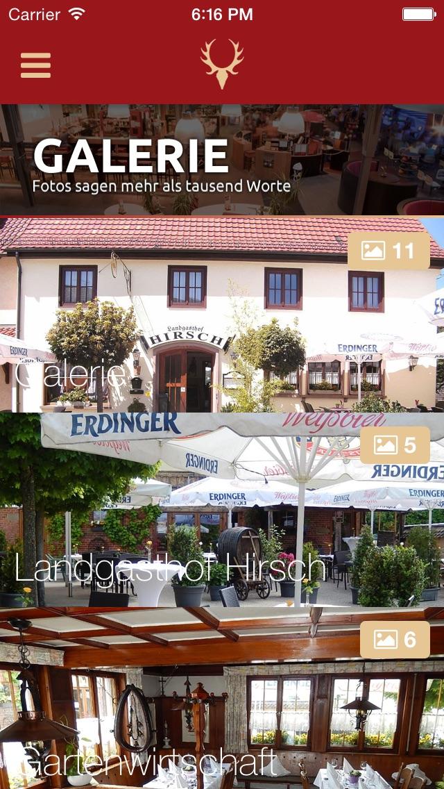 Landgasthof HirschScreenshot von 2