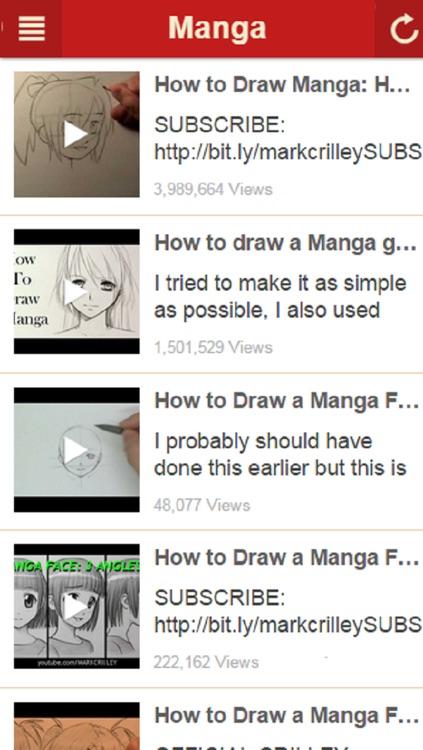 How To Draw Manga - Learn How to Draw Cartoons, Anime and More screenshot-4