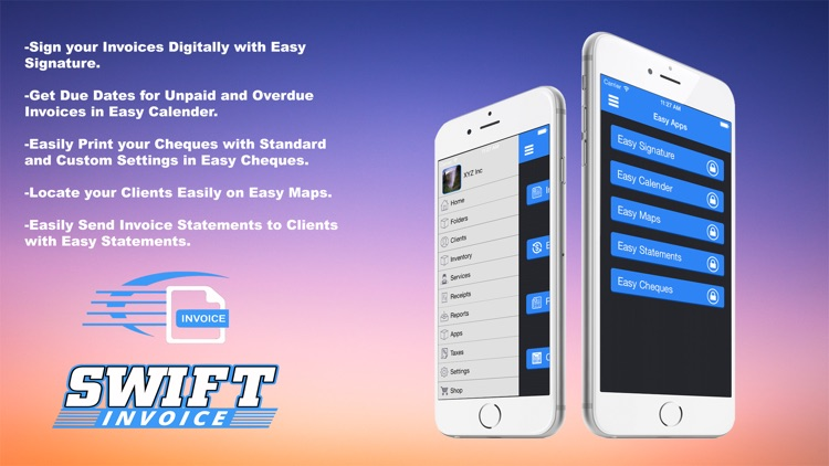 Swift Invoice Free screenshot-3