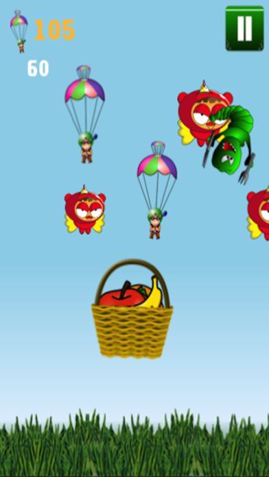 Angry Ninja Paratrooper Pilot Vs Birds Free Game: Zero