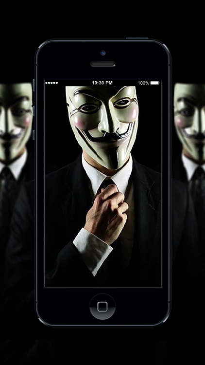 HD Wallpaper Anonymous Hacker screenshot-3