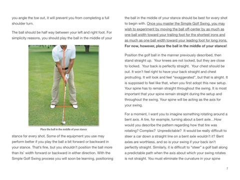 The Simple Golf Swing By David Nevogt On Apple Books