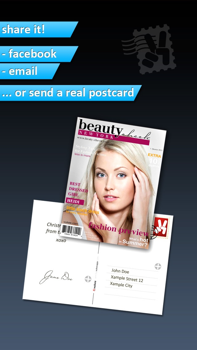 Photo2Cover - Create your own magazine cover screenshot four