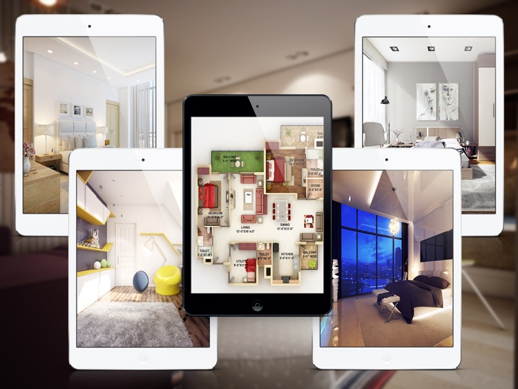 Bedroom - Architecture and Interior Design Ideas for iPad screenshot-3