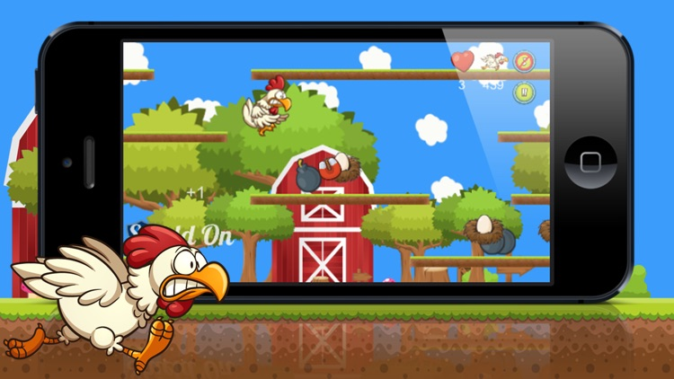 Chicken Run Free! A farm run and fly story of next door chicken hero!