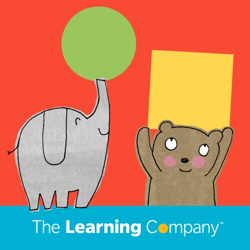 Elephant, Bear, Circle, Square - The Learning Company Little Books