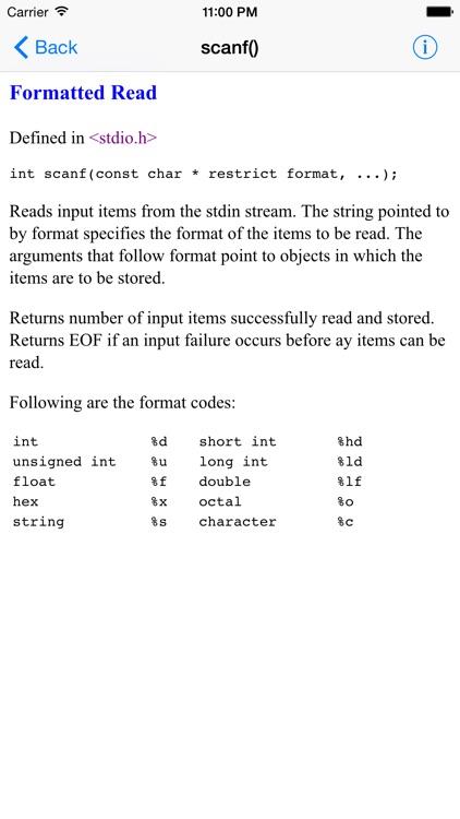 C Standard Library Lite screenshot-3