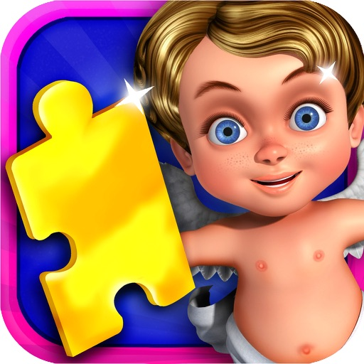 Kids Jigsaw Puzzle. icon