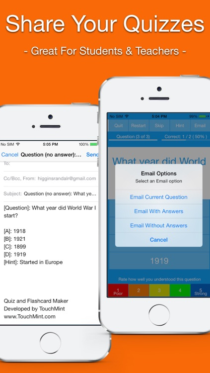 Quiz and Flashcard Maker screenshot-4