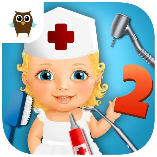 Sweet Baby Girl Kids Hospital 2 - Allergy Emergency, Broken Leg, Dentist Office and Ear Doctor (No Ads) icon