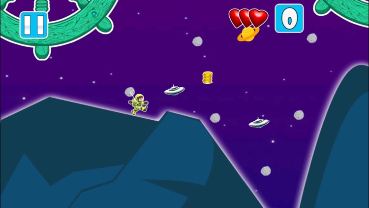 A Star Exploring Sling Mania FREE - Space Trek Wars Survival Game screenshot-3