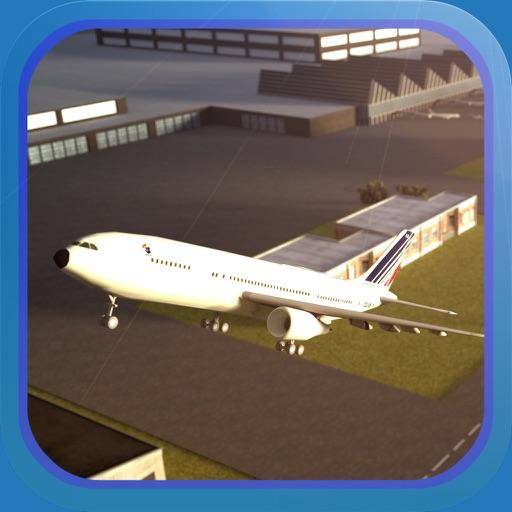 Plane Simulator PRO - landing, parking and take-off maneuvers - real airport SIM icon