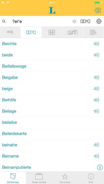 German Learner's Dictionary screenshot-3