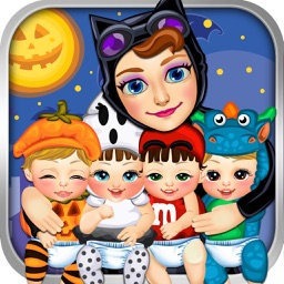 Halloween Mommy's New Baby Salon Doctor - My Fashion Spa & Pet Makeover Girl Games!