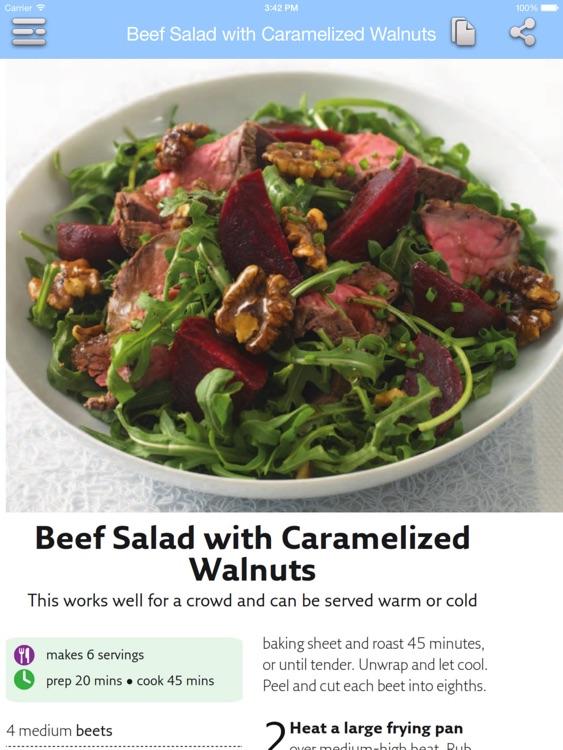 Low Calorie Recipes for iPad screenshot-4