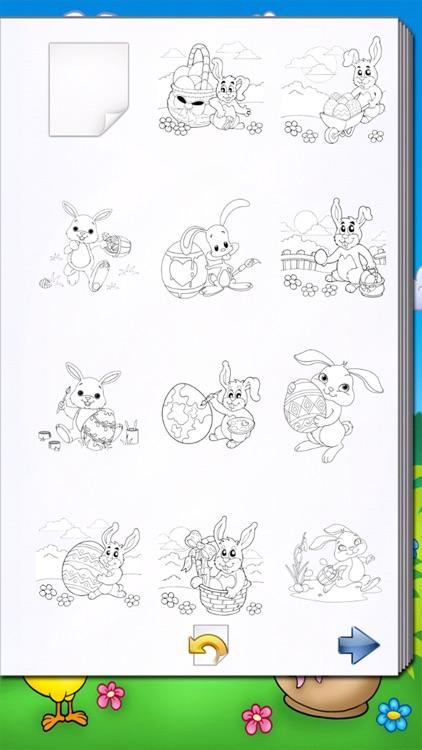 Easter Egg Kids Coloring Book!