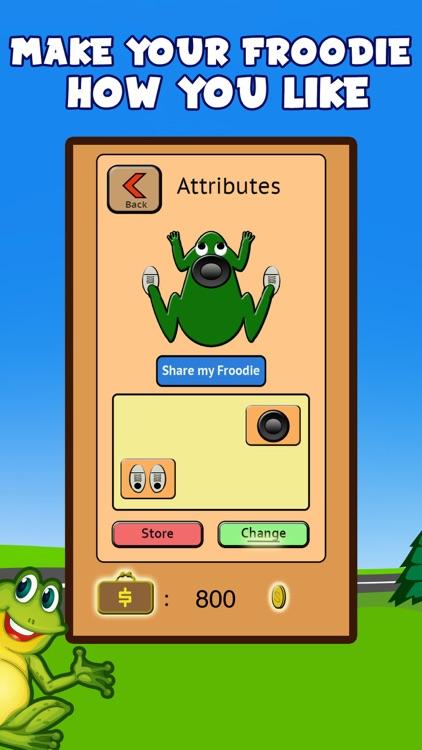 Froodie - Road Crossing Frog Frogger screenshot-3
