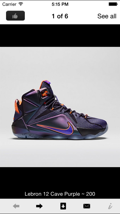 Lebron Shoe Edition - All Time Releases screenshot-1