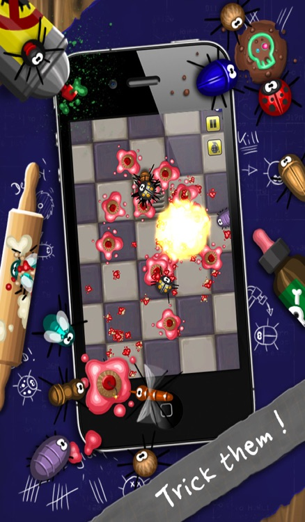 Pocket Bugs - Infinity Bugs with awesome Battle Weapons & Blades